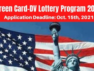 USA Green Card-DV Lottery Program 2023